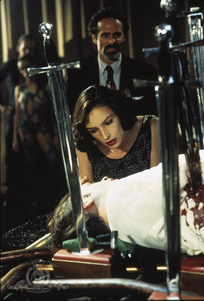 Famke Janssen and Joel Swetow in Lord of Illusions (1995)