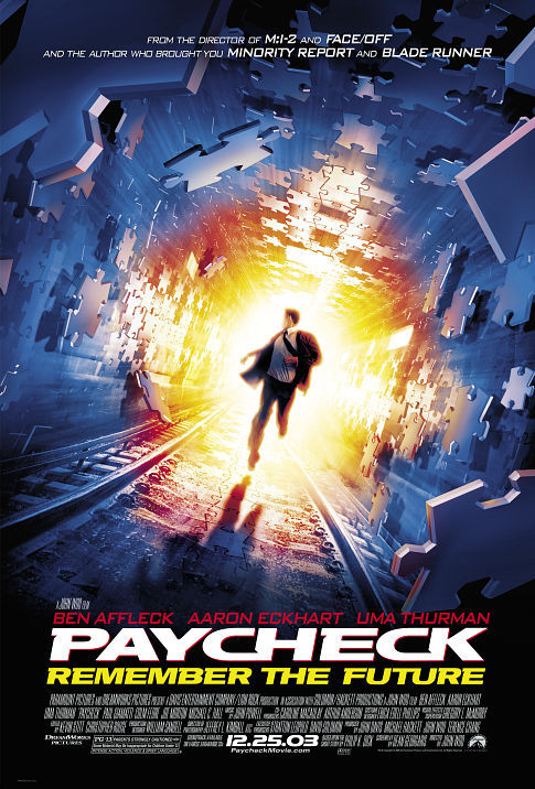Paycheck (2003) Hindi Dubbed