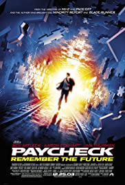 Paycheck (2003) Poster - Movie Forum, Cast, Reviews