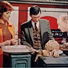 James Donald and Barbara Shelley in Quatermass and the Pit (1967)