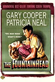 Gary Cooper and Patricia Neal in The Fountainhead (1949)