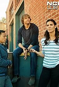 Eric Christian Olsen, Ernie Reyes Jr., and Daniela Ruah in NCIS: Los Angeles (2009)