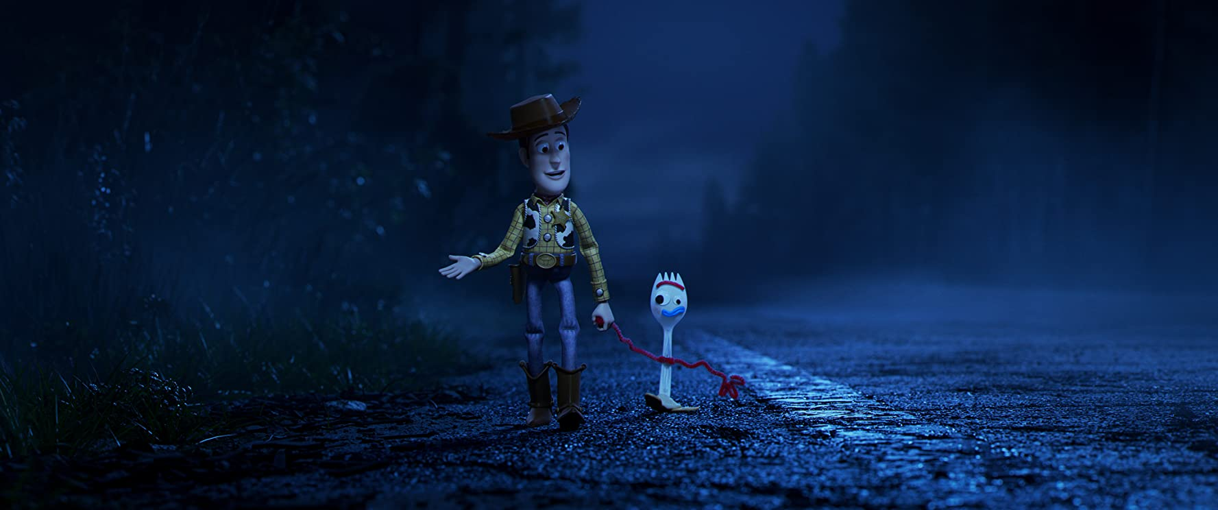 Tom Hanks and Tony Hale in Toy Story 4 (2019)
