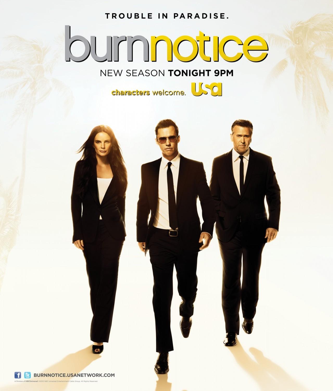 Burn Notice Season 7 COMPLETE WEBRip 480p & 720p