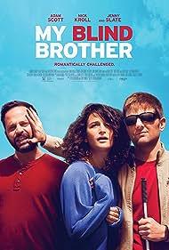 Adam Scott, Nick Kroll, Jenny Slate, and Andrew James Bleidner in My Blind Brother (2016)