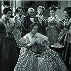 Maureen O'Sullivan, Greer Garson, Heather Angel, Mary Boland, Edmund Gwenn, Marsha Hunt, and Ann Rutherford in Pride and Prejudice (1940)