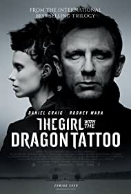 Daniel Craig and Rooney Mara in The Girl with the Dragon Tattoo (2011)
