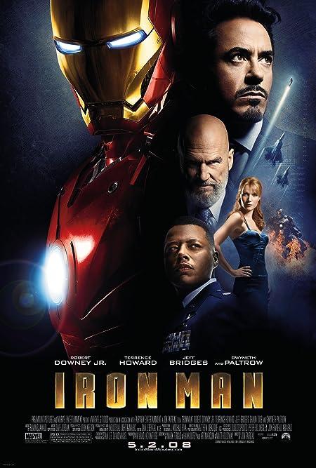 Iron Man (2008) Dual Audio [Hindi+English] Full Movie 480p, 720p BluRay Download