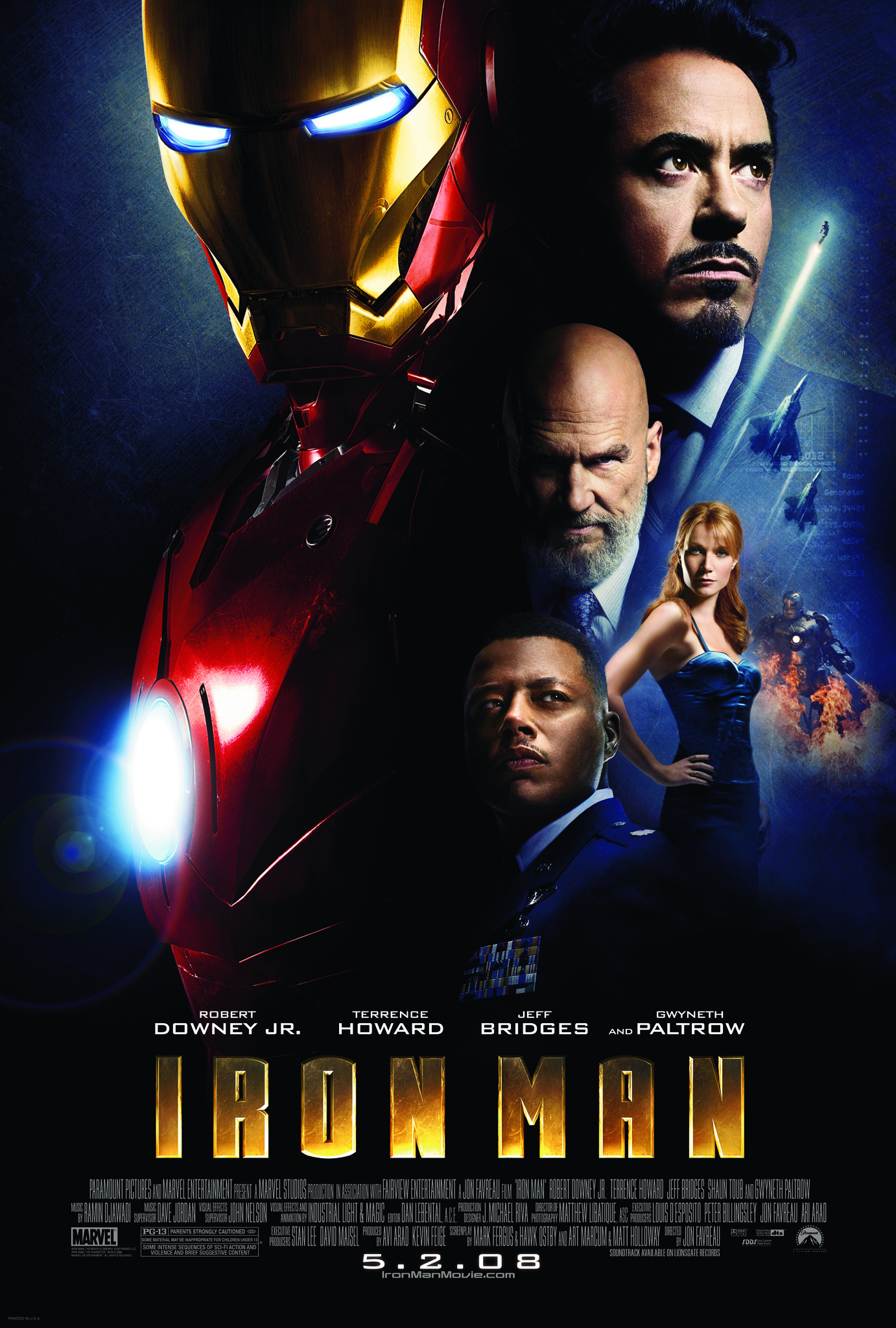 Iron Man (2008) BluRay 480p, 720p, 1080p & 4K-2160p