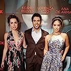 Eli Roth, Ana de Armas, and Lorenza Izzo in Knock Knock (2015)