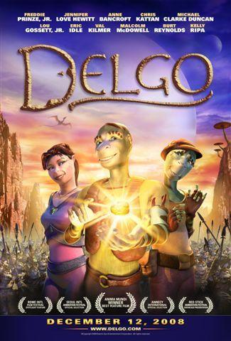 Poster film Delgo (2008).