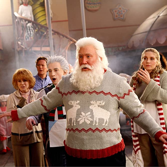 Ann-Margret, Tim Allen, Judge Reinhold, Martin Short, and Elizabeth Mitchell in The Santa Clause 3: The Escape Clause (2006)