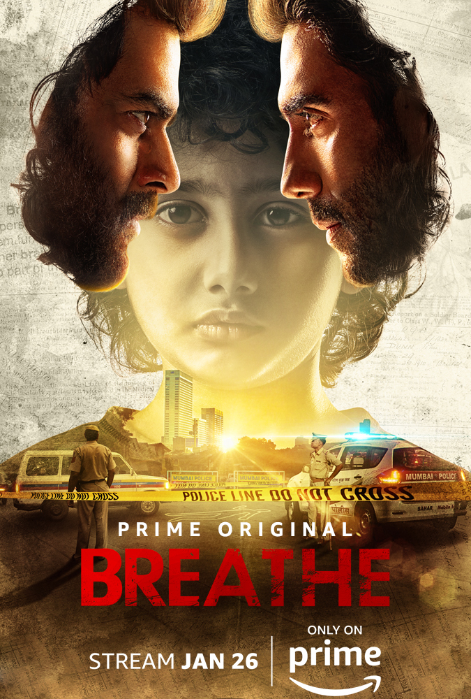 Download Breathe Hindi Season 01 Complete 720p x264 AMZN WEB-RIP | 720p