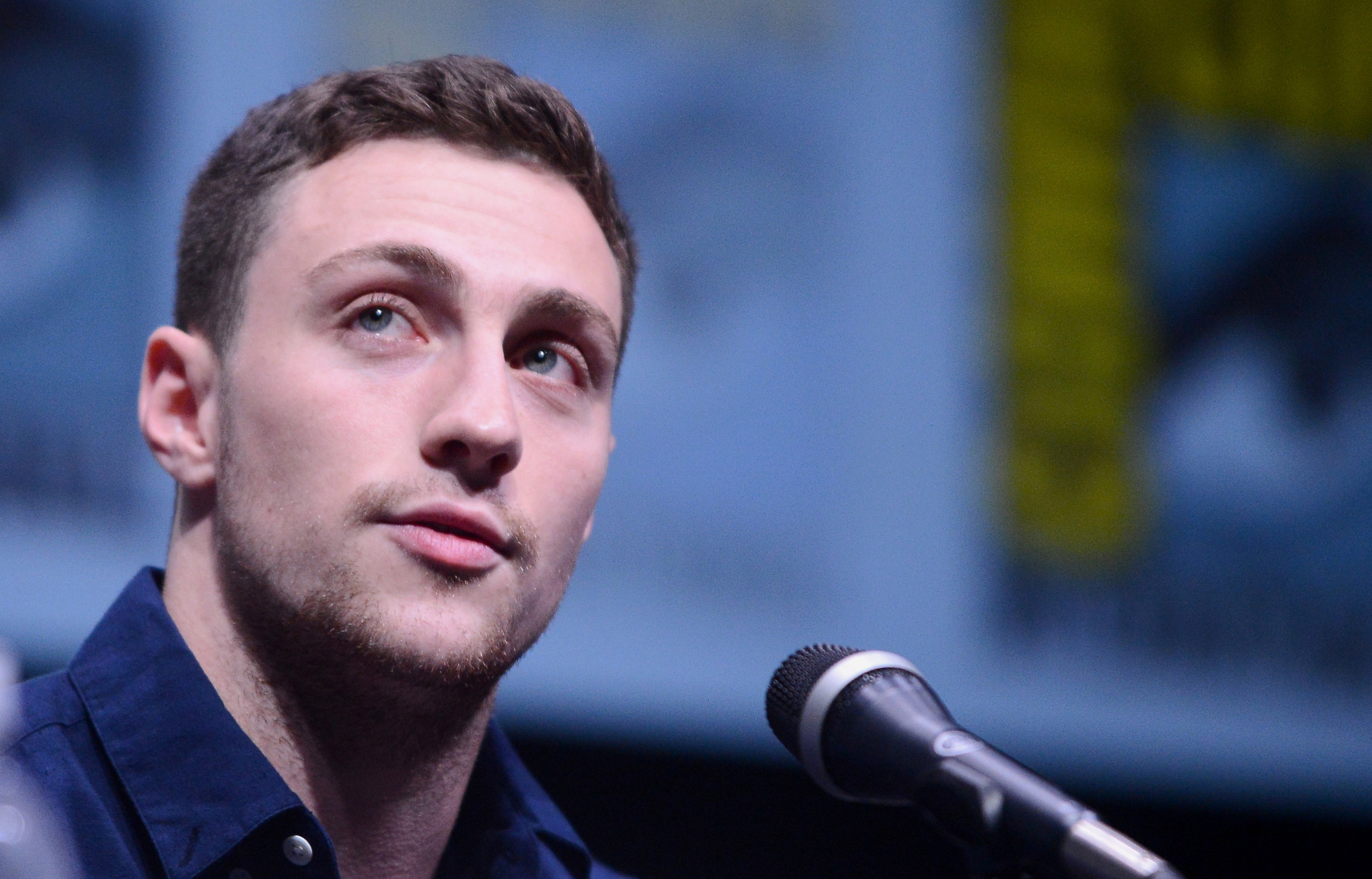 Aaron Taylor-Johnson at an event for Kick-Ass 2 (2013)