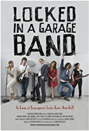 Locked in a Garage Band Poster