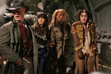 Alan Cumming, Zooey Deschanel, Neal McDonough, and Raoul Max Trujillo in Tin Man (2007)