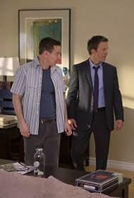 Mark-Paul Gosselaar and Breckin Meyer in Franklin & Bash (2011)