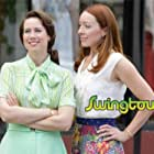 Molly Parker and Miriam Shor in Swingtown (2008)