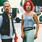 Moritz Bleibtreu and Franka Potente in Lola rennt (1998)