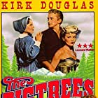 Kirk Douglas, Eve Miller, and Patrice Wymore in The Big Trees (1952)