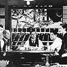 Setsuko Hara, Kyôko Kagawa, Shirô Ôsaka, Chishû Ryû, Haruko Sugimura, and Sô Yamamura in Tôkyô monogatari (1953)