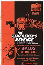 The Revenge of a Kinematograph Cameraman (1912) Poster - Movie Forum, Cast, Reviews