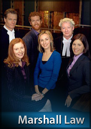 Jane Hall, Lisa McCune, William McInnes, Anne Phelan, and Alison Whyte in Marshall Law (2002)