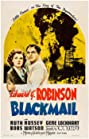 Blackmail (1939) Poster
