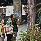 Sophie Stuckey, Calum MacNab, Jessica Barden, and Jacob Anderson in Comedown (2012)
