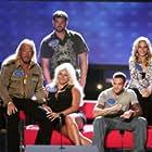 Beth Chapman, Leland Chapman, Duane 'Dog' Chapman, Duane Lee Chapman Jr., and Lyssa Chapman in Celebrity Family Feud (2008)