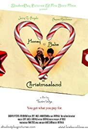 Honey and Babe in Christmasland Poster