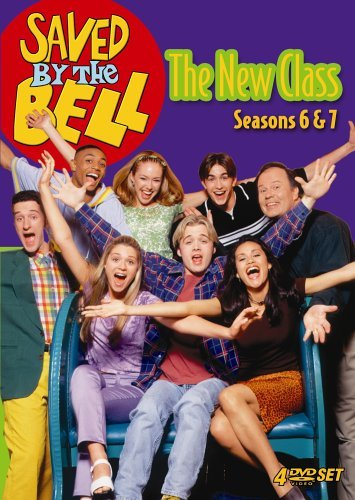 Ashley Tesoro, Samantha Esteban, Dustin Diamond, Ben Gould, Anthony Harrell, Dennis Haskins, Tom Huntington, and Lindsey McKeon in Saved by the Bell: The New Class (1993)