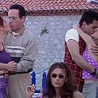 Eleni Randou, Haris Romas, Kalliroi Miriagou, Maria Lekaki, and Stergios Nenes in Konstantinou kai Elenis (1998)
