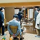 Yûko Takeuchi, Shihori Kanjiya, Tomoya Nakamura, and Ken'ichi Takitô in Miss Sherlock (2018)