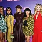 Jennifer Lopez, Keke Palmer, Constance Wu, Lili Reinhart, and Cardi B at an event for Hustlers (2019)