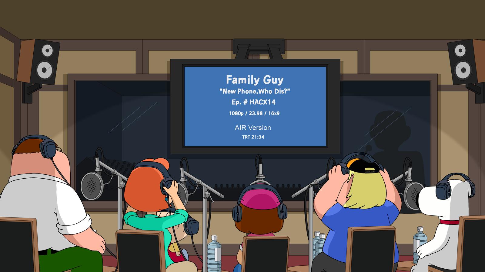 Seth Green, Alex Borstein, and Seth MacFarlane in Family Guy (1999)
