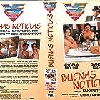 Giancarlo Giannini and Ángela Molina in Buone notizie (1979)