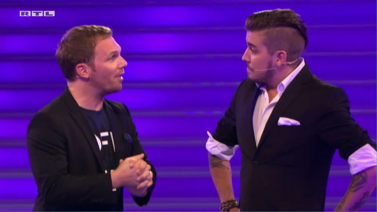 Ralf Schmitz and Pat Wind in Take Me Out (2013)