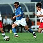 Ji Sung Park, Alessandro Del Piero, and Yoo Sang-Chul in 2002 FIFA World Cup (2002)