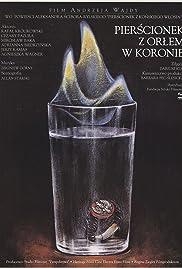 Pierscionek z orlem w koronie Poster