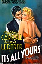 It's All Yours (1937) Poster