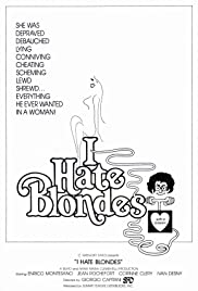 I Hate Blondes Poster