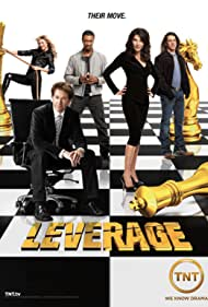 Timothy Hutton, Gina Bellman, Aldis Hodge, Christian Kane, and Beth Riesgraf in Leverage (2008)