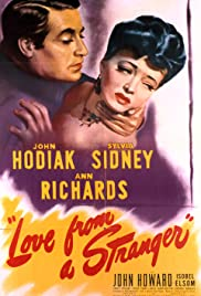 Love from a Stranger Poster