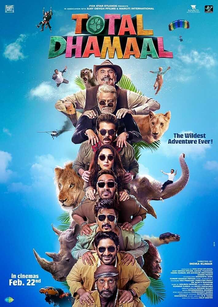 Total Dhamaal (2019) Hindi 720p PreDvDRip x264 [999MB]