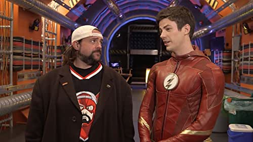 """""""The Flash"""" Set Tour With Kevin Smith"""