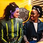 Bonnie Mbuli and Alex McGregor in Vagrant Queen (2020)