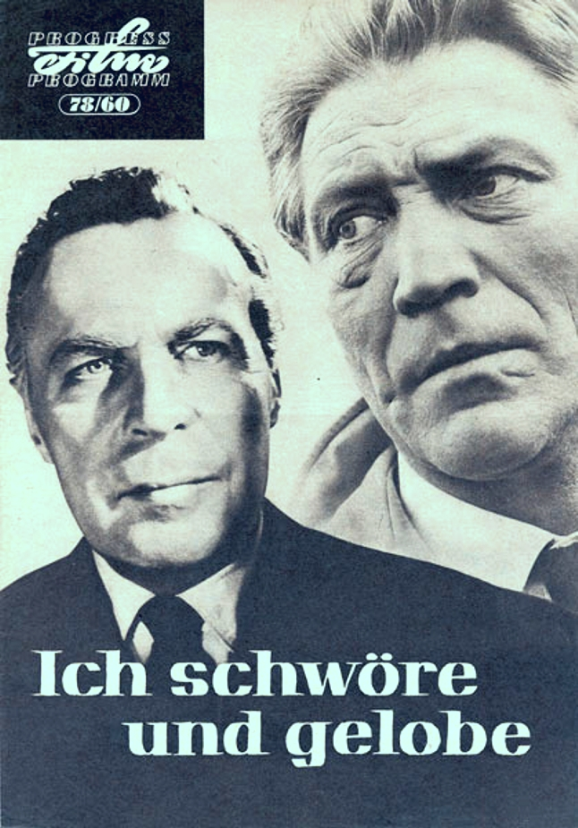 Hans Christian Blech and Kurt Buecheler in Ich schwöre und gelobe (1960)