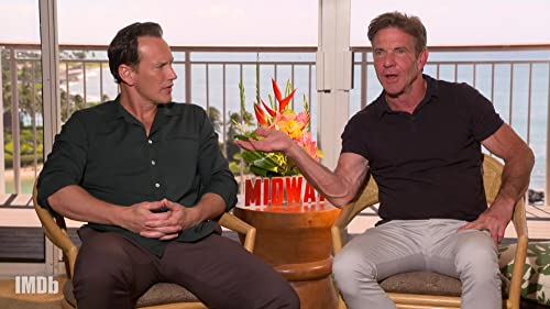 Dennis Quaid, Patrick Wilson, & 'Midway' Cast on Playing Real WWII Heroes