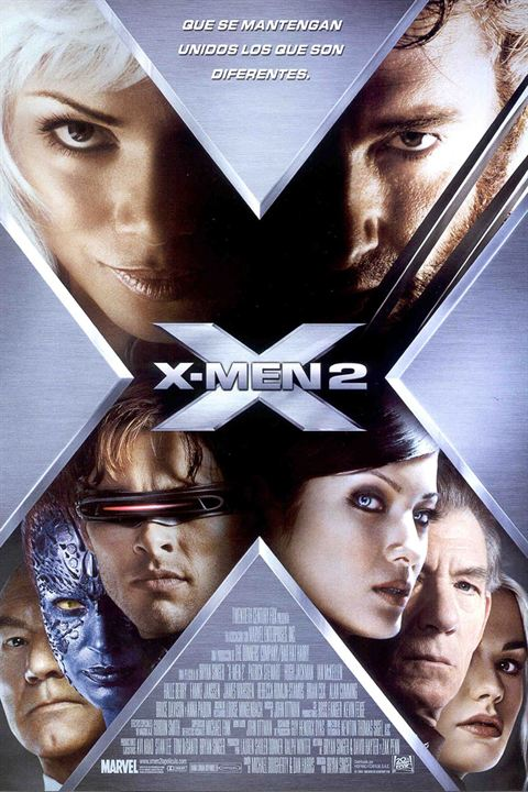 X-Men 2 2003 Hindi Dual Audio 492MB BluRay ESubs Download